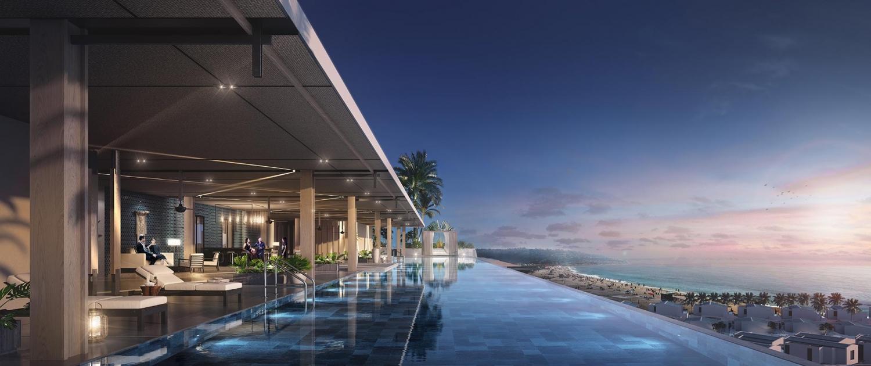 Hồ bơi vô cực Regent Residences Phú Quốc