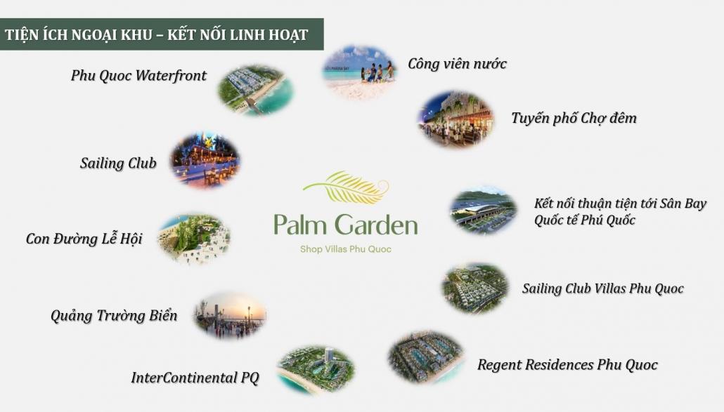 Palm Garden shop villas tien ich ngoai khu