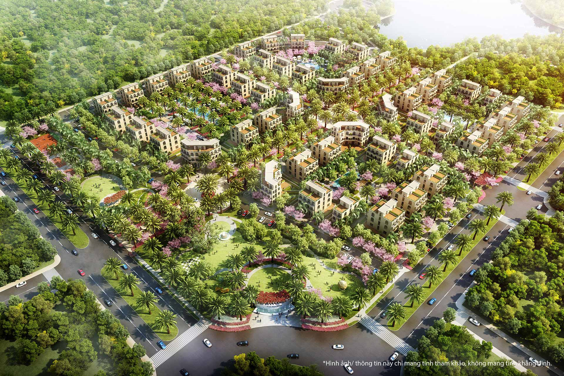 Palm Garden Shop Villas Phu Quoc phoi canh 2