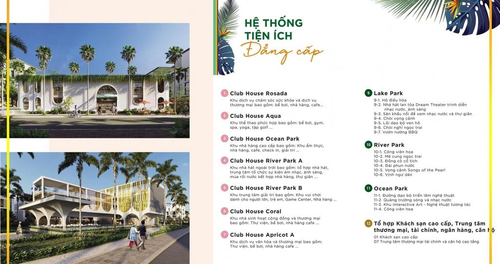 Tiện ích nội khu Meyhomes Capital Phu Quoc