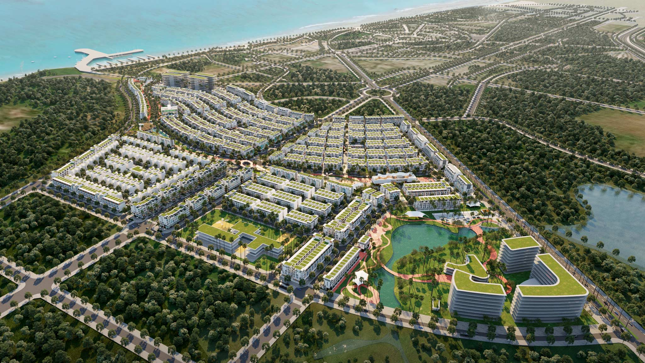 Meyhomes Capital Phu Quoc - Phoi canh tong the