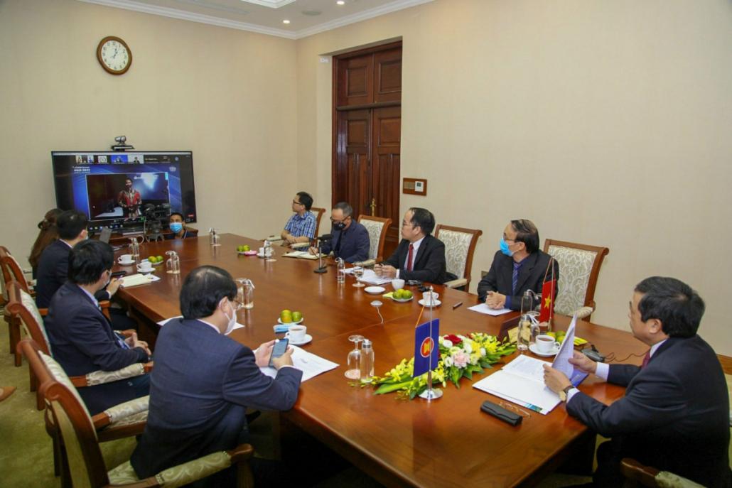 Đoàn đại biểu Việt Nam tham dự Diễn đàn Du lịch Toàn cầu 2021